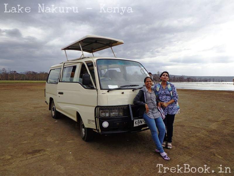 roopa and nima at lake front nakuru