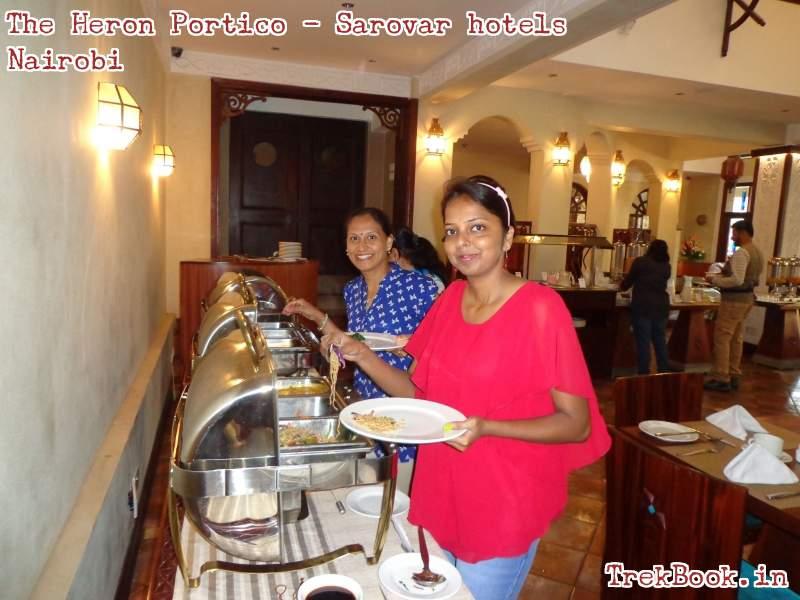the heron portico - nairobi Dining