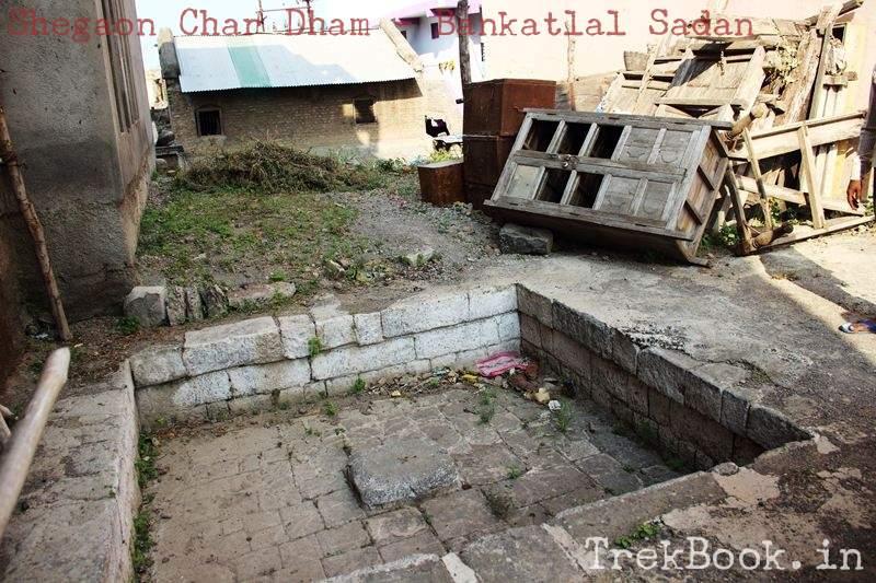 shegaon char dham bankat sadan where first bath of gajanan maharaj took place
