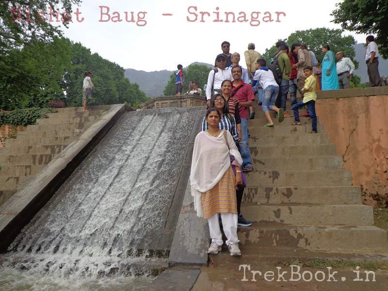 water body nishat baug srinagar