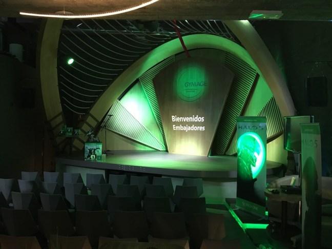 Evento Embajadores Microsoft - Escenario