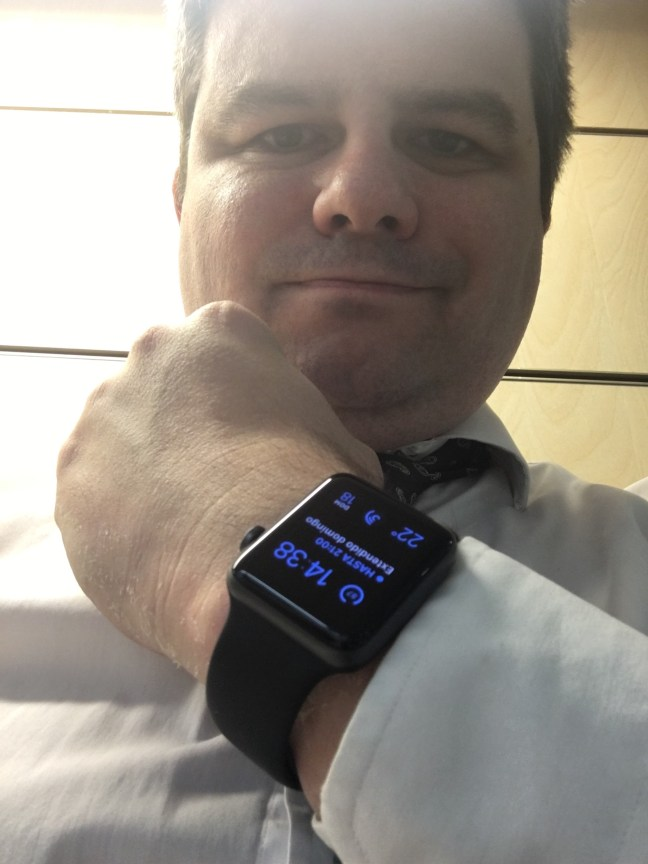 Mi Apple Watch y yo