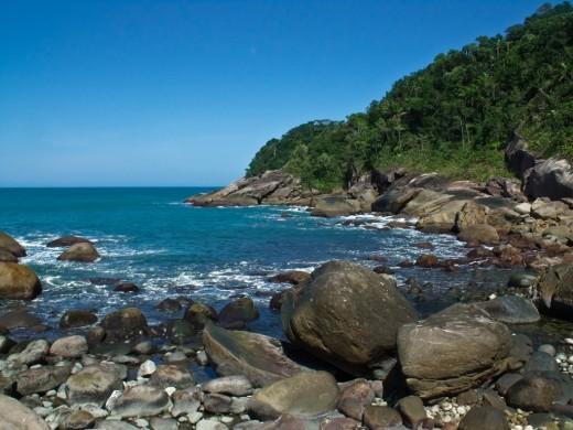 Praia Galhetas, Galetas - Paraty