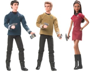 New! Barbie as Mashup -- Star Trek style