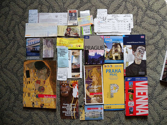 Art Museum Ticket Stub collection (darwin.wins/flickr)