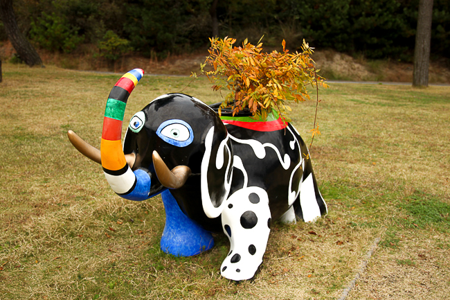 """Elephant"", by Niki de Saint Phalle, 1991"