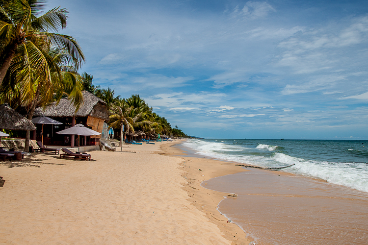The lovely sands of Phu Quoc
