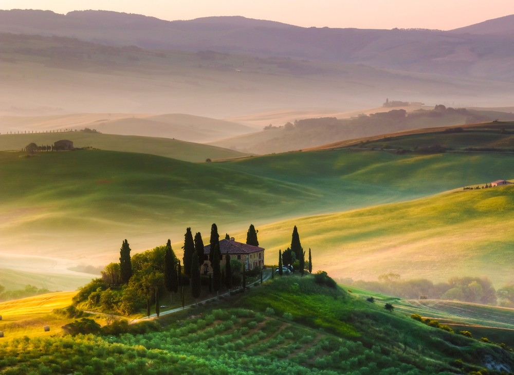 Fall Hills Wallpaper Tuscany Bike Tours Italy Bike Tours Amp Bicycle Vacations