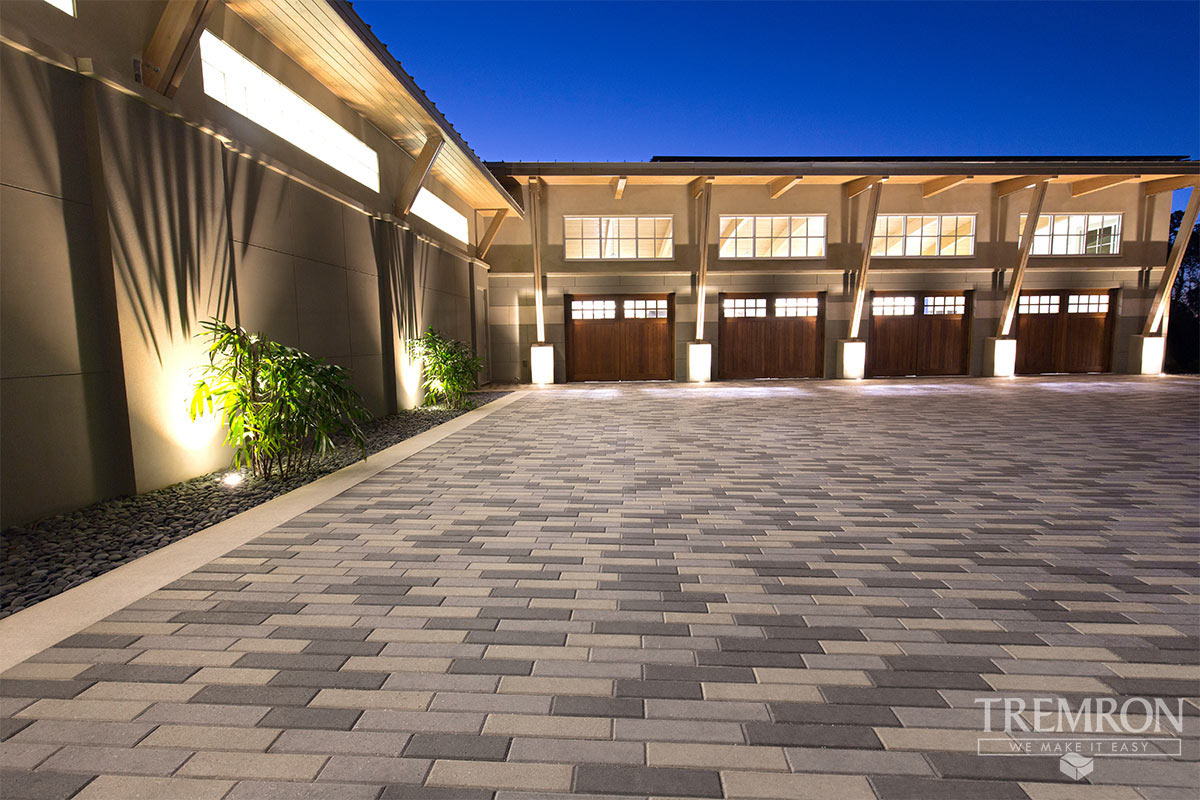Charcoal Grey Plank Pavers Tremron Jacksonville Pavers, Retaining Walls