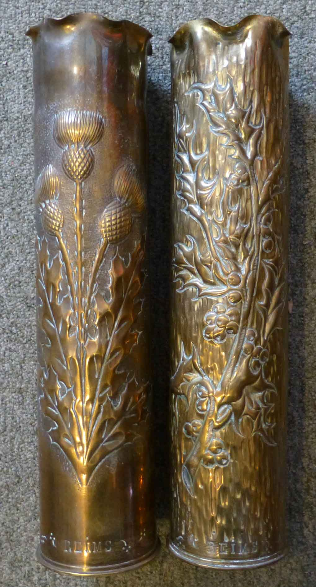 Decoration Reims Trench Art