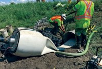Rehabilitating a Culvert in Ontario Using a NovaForm PVC Liner