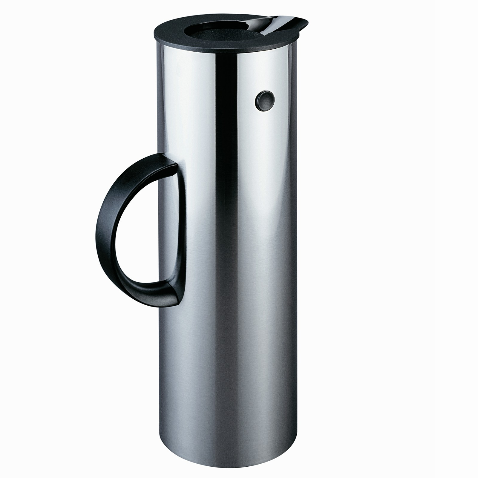 Thermosflasche 1l Stelton Isolierkanne Thermoskanne 1 L Stahl