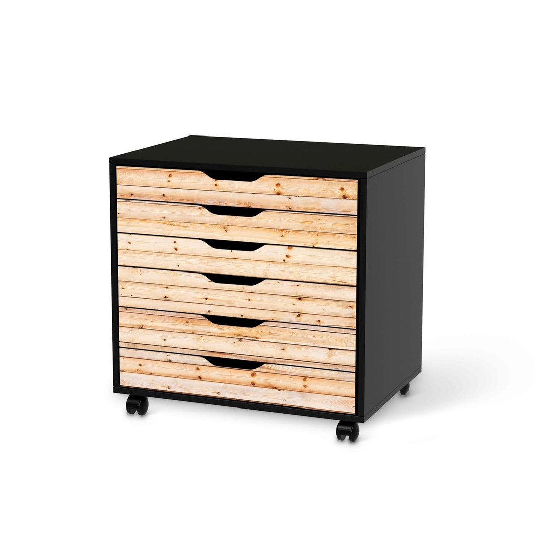 Rollcontainer Ikea Holz
