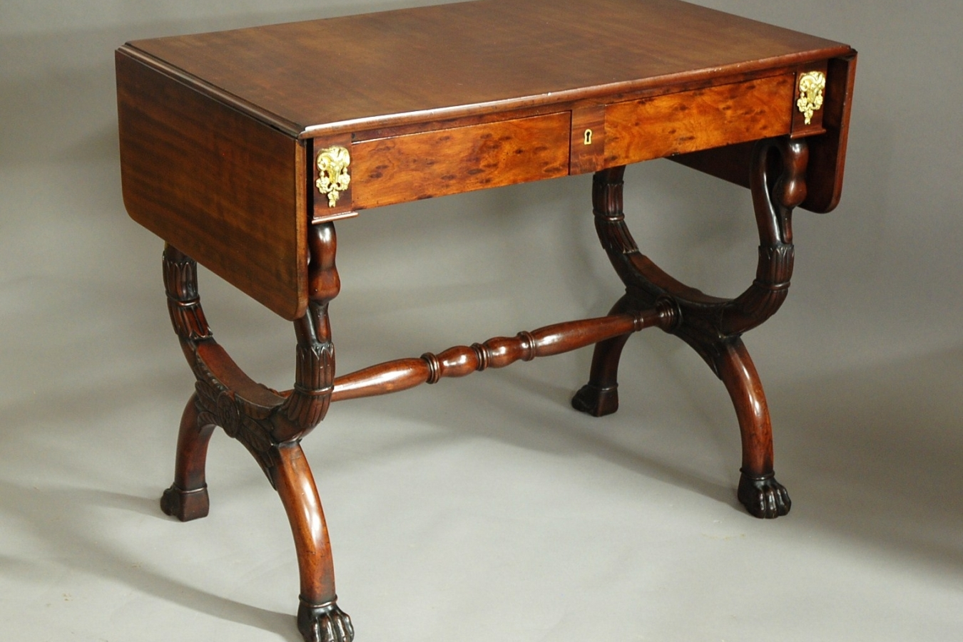 Sofa With French Writing French Empire Sofa Table Trendfirst
