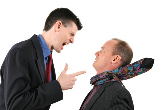 Arguing reinforces the conflict