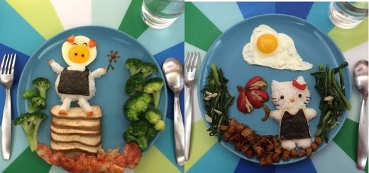 Cool and creative lunch art