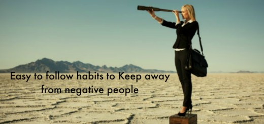 Easy to follow habits to Keep away from negative people