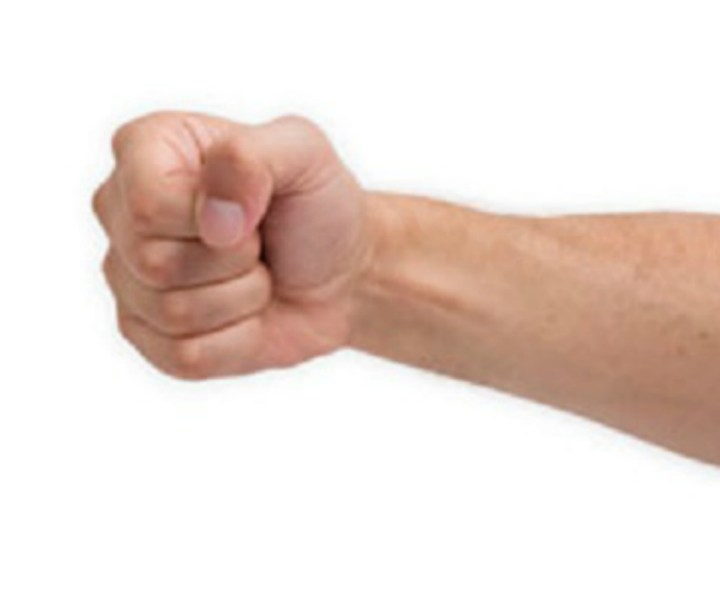 Pain when clenching fist