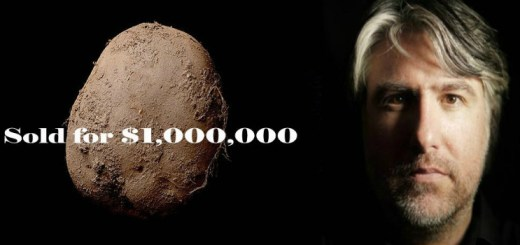 Believe it or not - The photograph of a potato sells for a million dollars