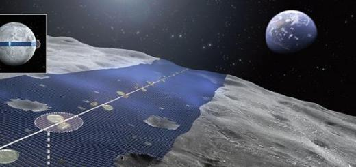 Solar panels grown on the moon could power the earth