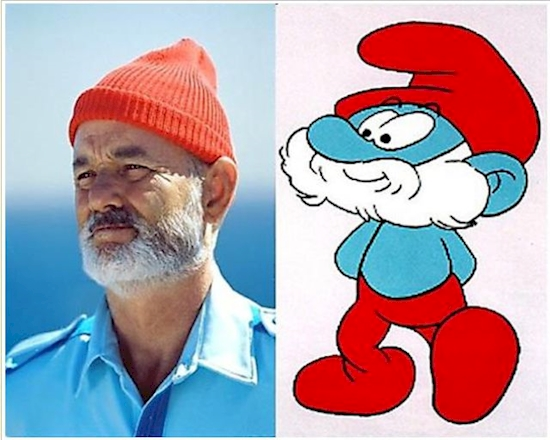 Papa Smurf from 'The Smurfs'