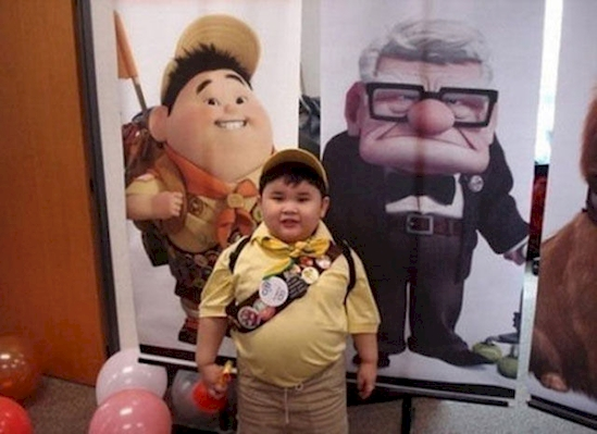 Russell from 'Up'