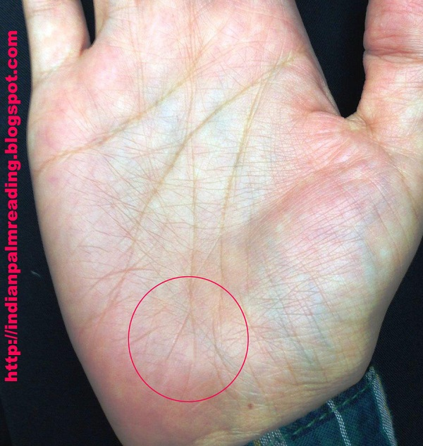 Image Of Fish Symbol End Of Life Line In Palmistry