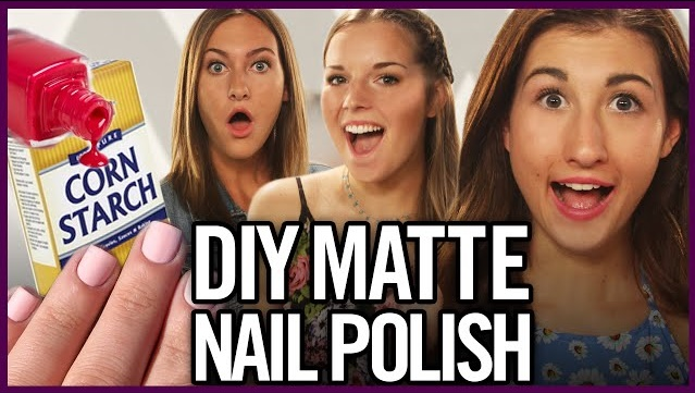 Cornstarch Will Give your Nails a Matte Finish