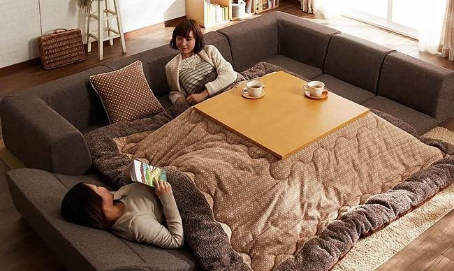 Kotatsu: The heated tabl