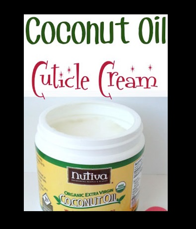 Use Coconut Oil as Cuticle Cream