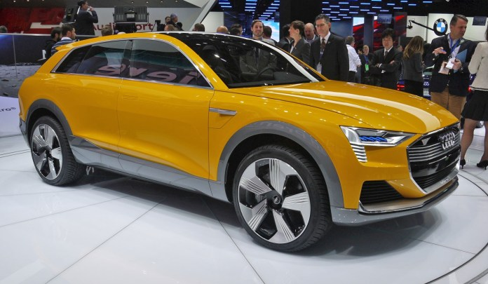 Audi's Plans To Take Its Share From The All Electric Car Market