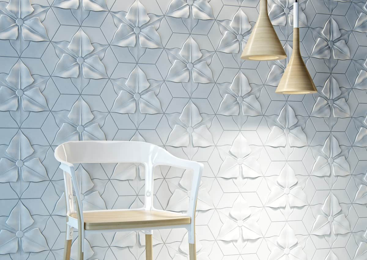Fliesen Relief Textured Concrete Tiles With Relief Motifs