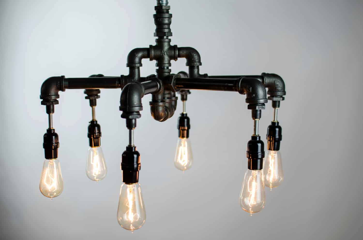 Pipe Light Fixtures 23 Awesome Plumbing Pipe Furniture Designs