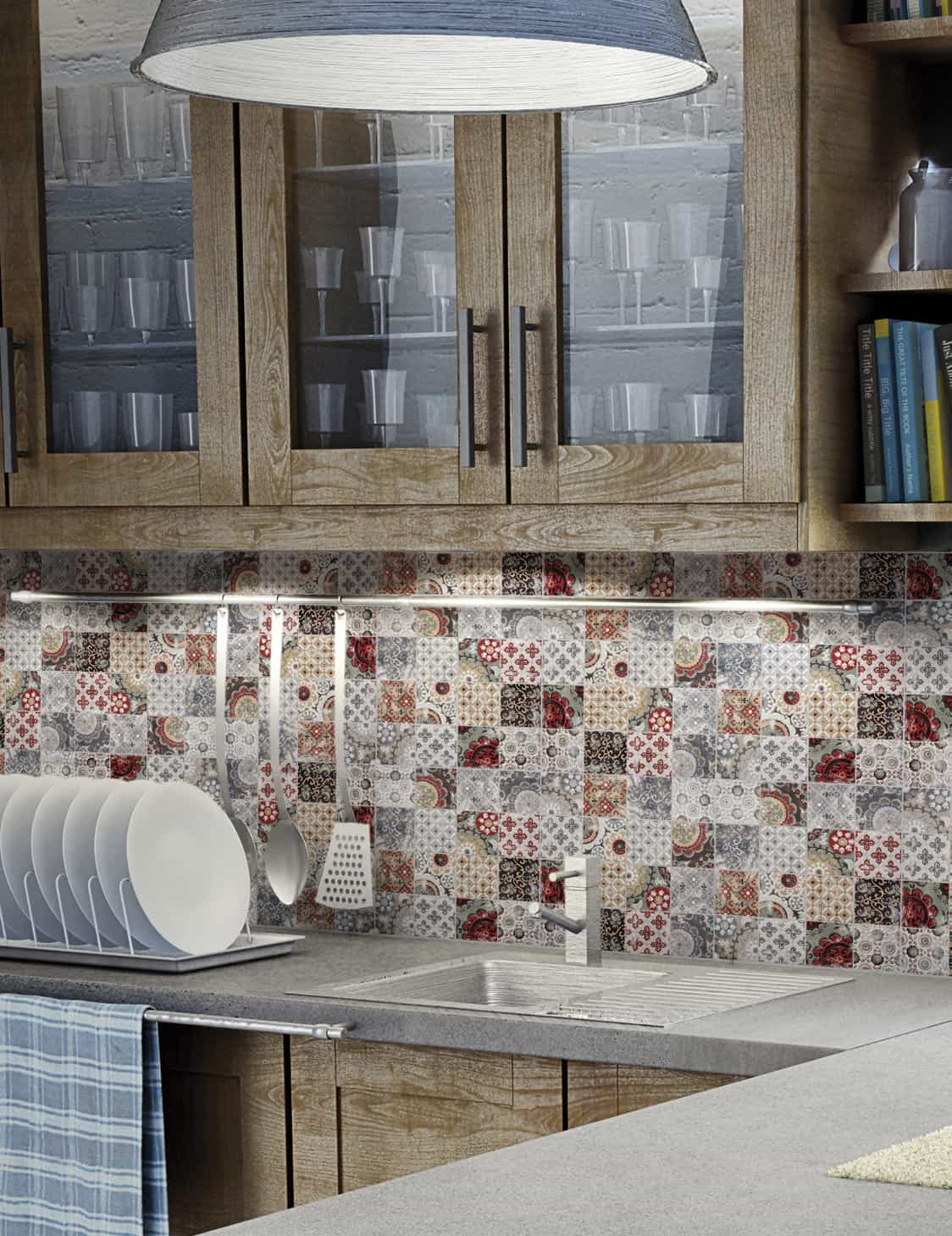 patchwork backsplash country style kitchen ideas homestead country kitchen backsplash ideas pictures