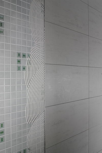 Modern Backsplash Tile Thin Porcelain Tile - New Skin Tiles By Refin