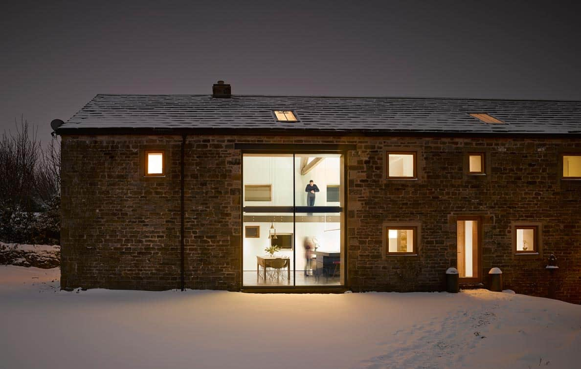 Home Lighting Yorkshire Historic Barn Reinvented Into Modern Home With Exposed