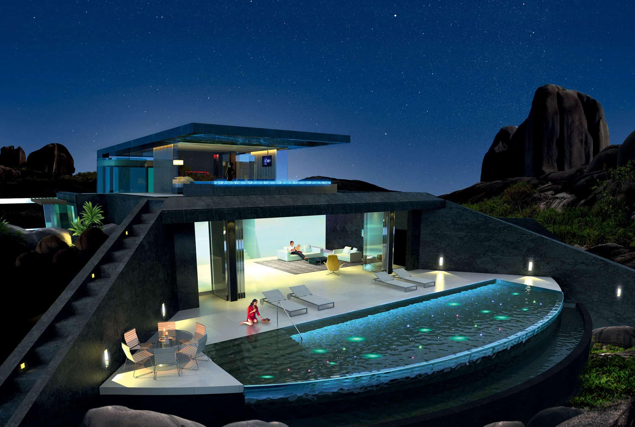home infinity pool glass bottomed pool rendered social house floor plans pool house floor plans indoor pool