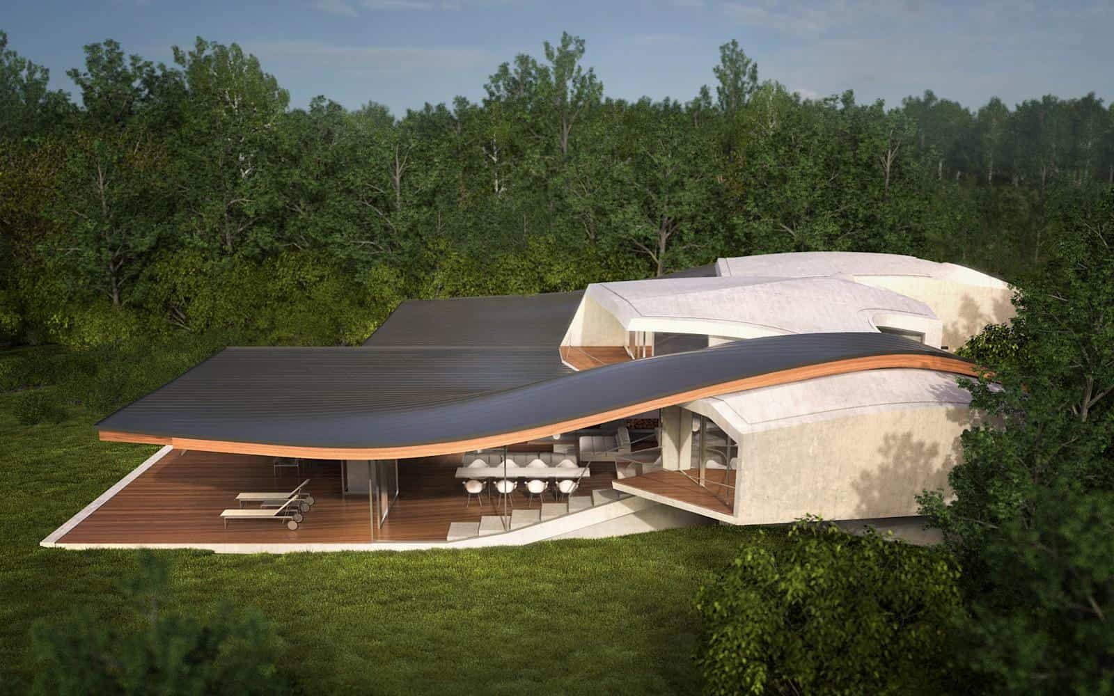futuristic vacation home opens outdoors home designs latest modern unique homes designs