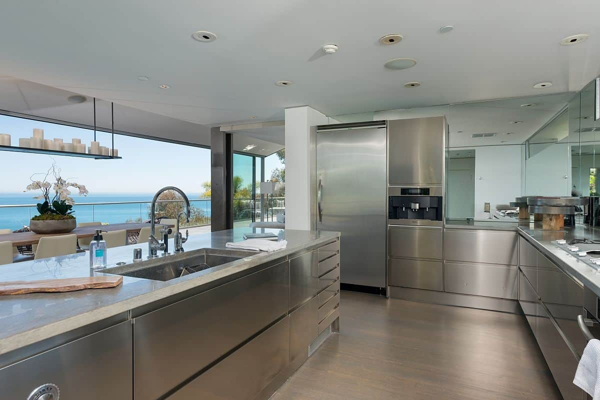 Modern Home Kitchen Modern Malibu Beach House Rooms With A View Modern