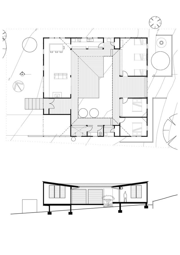 small vacation home wraps large private courtyard floorplan small house plans small vacation home plans vacation home plans small
