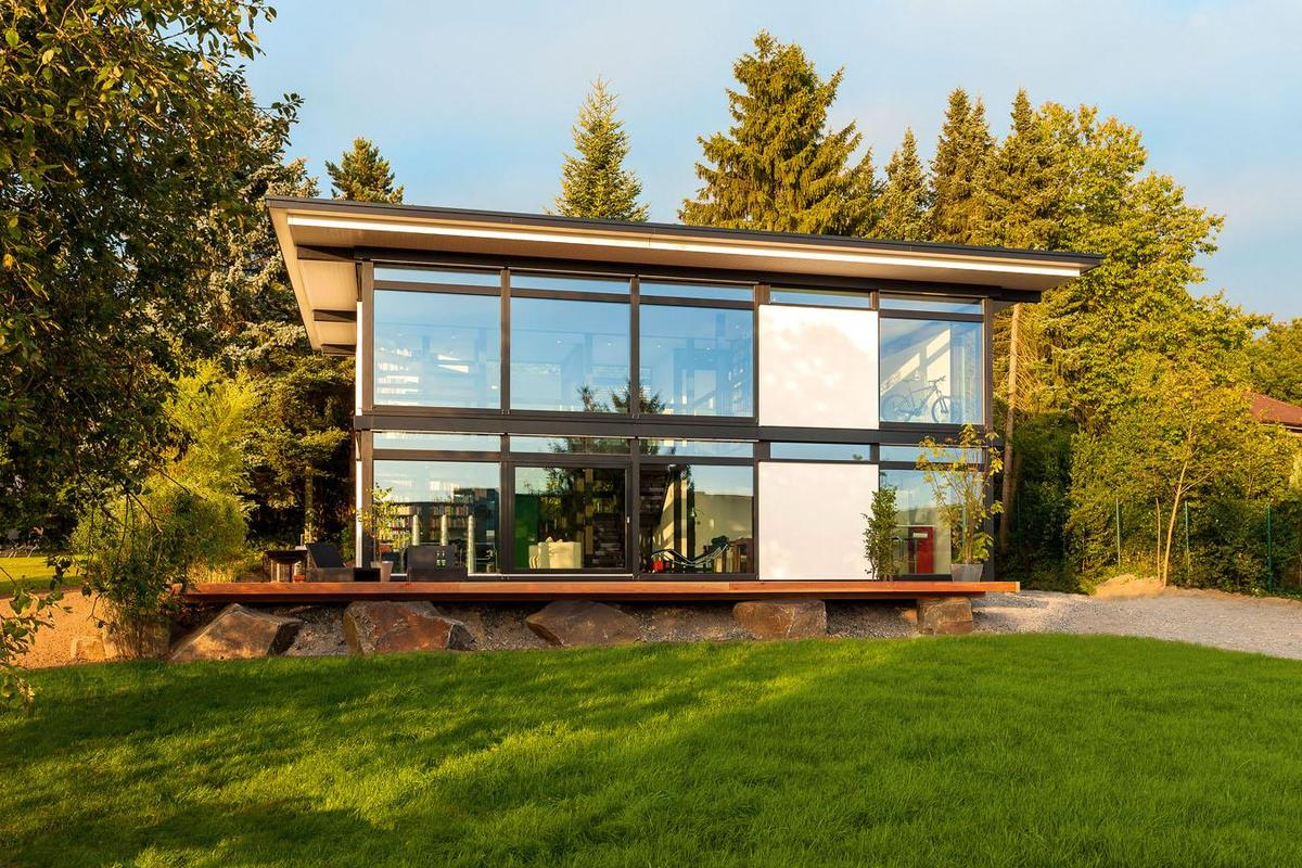 Wintergarten Polen Huf Haus Modum - New Prefab House Concept For Intelligent