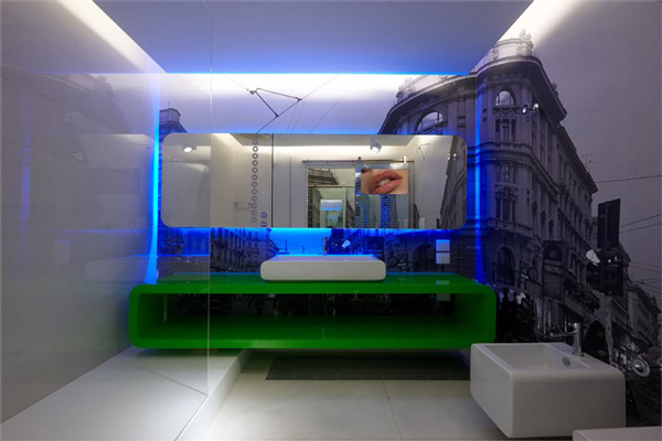 Dramatic Bedroom Designs By Simone Micheli - High Tech Slaapkamer