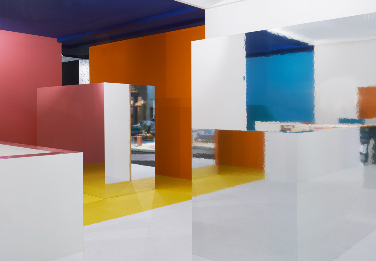 Eigen Huis & Interieur I29 Designed Color Block Pavilion For Eigen Huis Interieur