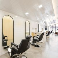 Minimalist Barber Shop in Sao Paulo by Felipe Hess