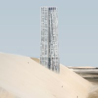 Misplaced Series: NY Famous Building in Deserted Landscapes