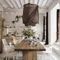 Charming all white Barcelona Loft