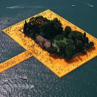 Christo's Amazing Floating Piers On Lake Iseo, Italy