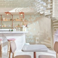 Sugar Crystals Inspired Interior for Shugaa Dessert Bar