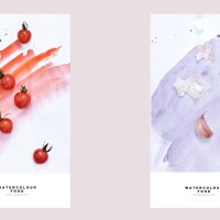 Food in Watercolour by Yum Tang