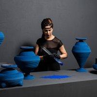 Siba Sahabi's Blue Alchemy